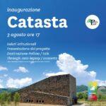Il 3 agosto la cerimonia di inaugurazione della Catasta, l'hub turisitico e culture del Pollino.